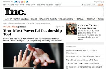 http://www.inc.com/jeff-haden/most-powerful-leadership-tool-managing-employees.html