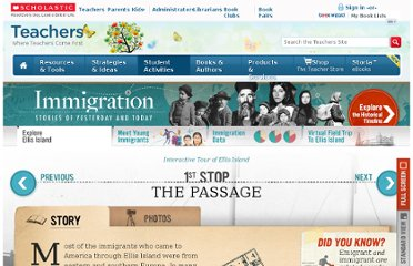 http://teacher.scholastic.com/ACTIVITIES/IMMIGRATION/tour/stop1.htm