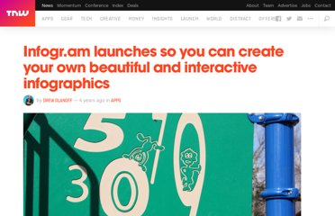 http://thenextweb.com/apps/2012/05/22/infogr-am-launches-so-you-can-create-your-own-beautiful-and-interactive-infographics/