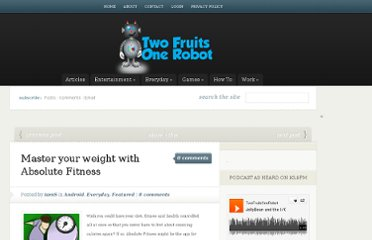 http://www.twofruitsonerobot.com/master-weight-absolute-fitness/