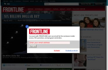 http://www.pbs.org/wgbh/pages/frontline/mf-global-six-billion-dollar-bet/