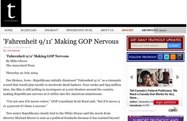 http://archive.truthout.org/article/fahrenheit-911-making-gop-nervous