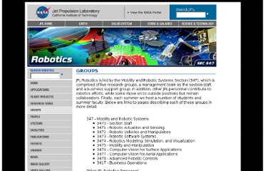 http://www-robotics.jpl.nasa.gov/groups/index.cfm