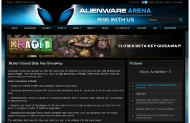 http://www.alienwarearena.com/giveaway/krater-closed-beta-key-giveaway/