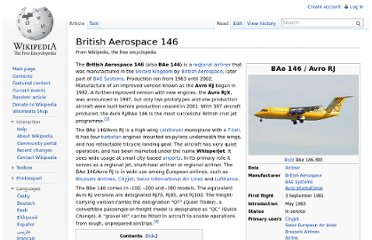 http://en.wikipedia.org/wiki/British_Aerospace_146