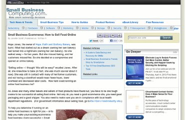 http://www.smallbusinesscomputing.com/emarketing/article.php/3925161/Small-Business-Ecommerce-How-to-Sell-Food-Online.htm