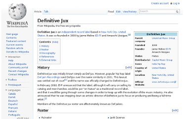 http://en.wikipedia.org/wiki/Definitive_Jux