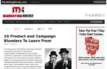 http://marketinghackz.com/10-product-and-campaign-blunders-to-learn-from/