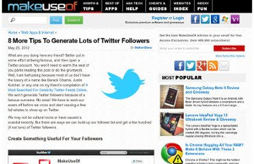 http://www.makeuseof.com/tag/8-more-tips-generate-twitter-followers/