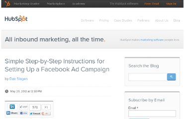 http://blog.hubspot.com/blog/tabid/6307/bid/32992/Simple-Step-by-Step-Instructions-for-Setting-Up-a-Facebook-Ad-Campaign.aspx