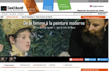 http://www.canal-educatif.fr/videos/art/28/manet-art-en-question-2/manet-dans-la-serre.html
