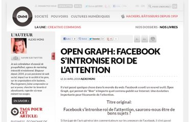 http://owni.fr/2010/04/26/open-graph-facebook-sintronise-roi-de-lattention/