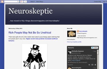 http://neuroskeptic.blogspot.com/2012/05/rich-people-may-not-be-so-unethical.html