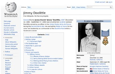 http://en.wikipedia.org/wiki/Jimmy_Doolittle#Military_honors