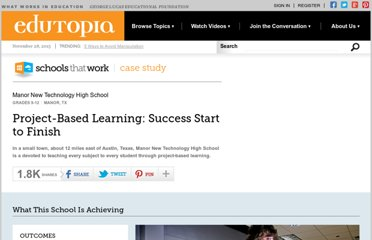 http://www.edutopia.org/stw-project-based-learning-best-practices