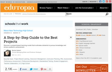 http://www.edutopia.org/stw-project-based-learning-best-practices-guide