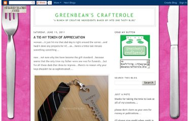 http://thegreenbeanscrafterole.blogspot.com/2011/06/tie-ny-token-of-appreciation.html