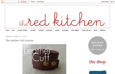 http://www.the-red-kitchen.com/2011/03/leather-cuff-tutorial.html