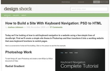 http://designshack.net/articles/accessibility/how-to-build-a-site-with-keyboard-navigation-psd-to-html/