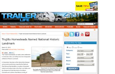 http://www.trailerlife.com/camper-trailer-news/trujillo-homesteads-named-national-historic-landmark/