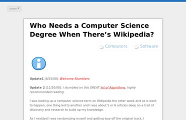 http://www.geeknews.net/2008/06/21/who-needs-a-computer-science-degree-when-theres-wikipedia