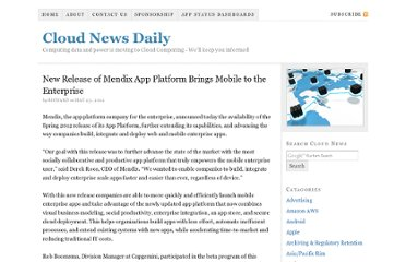 http://cloudnewsdaily.com/2012/05/new-release-of-mendix-app-platform-brings-mobile-to-the-enterprise/