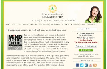 http://www.transformleaders.tv/10-surprising-lessons-in-my-first-year-as-an-entrepreneur/