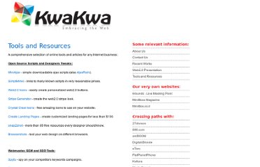 http://www.kwakwa.com/tools-and-resources