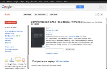 http://books.google.co.uk/books/about/Communication_in_the_Presidential_Primar.html?id=4ewRFCgdNNwC#v=onepage&q&f=false