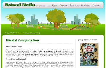 http://naturalmaths.com.au/mental-computation.php