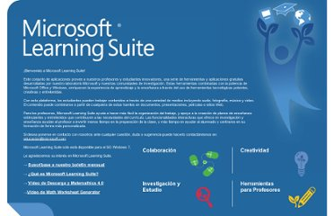http://www.microsoft.com/spain/educacion/learningsuite/