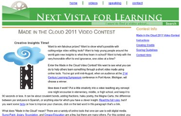 http://nextvista.org/contests/madeinthecloud/index.phtml