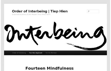 http://www.orderofinterbeing.org/for-the-aspirant/fourteen-mindfulness-trainings/