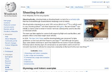 http://en.wikipedia.org/wiki/Shooting-brake
