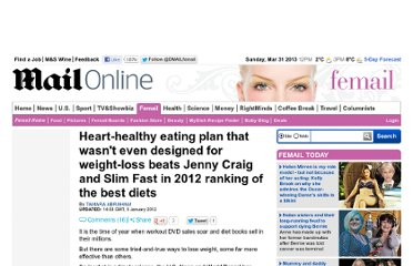 http://www.dailymail.co.uk/femail/article-2082277/Heart-healthy-eating-plan-wasnt-designed-weight-loss-beats-Jenny-Craig-Slim-Fast-2012-ranking-best-diets.html