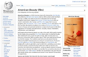 http://en.wikipedia.org/wiki/American_Beauty_(film)