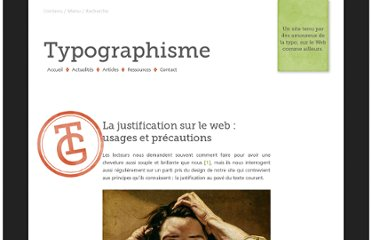http://typographisme.net/post/La-justification-sur-le-web-%3A-usages-et-pr%C3%A9cautions