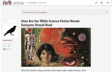 http://io9.com/5913069/time-travel-back-to-the-1960s-with-these-great-science-fiction-novels