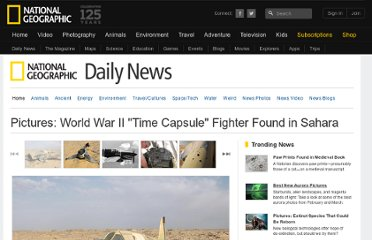 http://news.nationalgeographic.com/news/2012/05/pictures/120524-world-war-ii-plane-egypt-desert-science-p-40-lost/