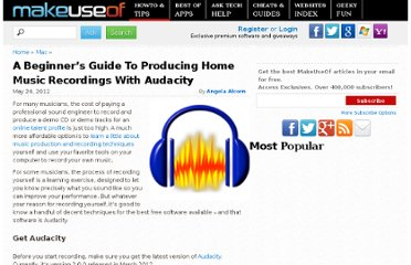 http://www.makeuseof.com/tag/stepbystep-guide-audacity-produce-home-music-recordings/