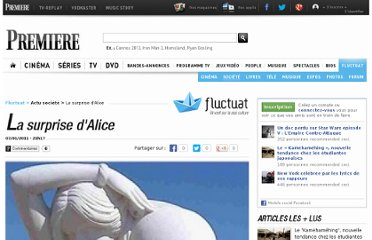 http://fluctuat.premiere.fr/Societe/News/La-surprise-d-Alice-3238958