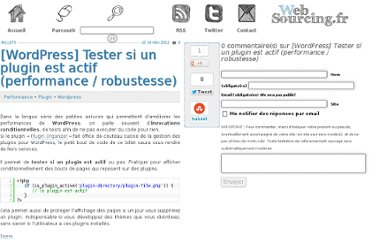 http://blog.websourcing.fr/wordpress-tester-plugin-est-actif-performance-robustesse/
