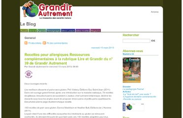 http://blog.grandirautrement.com/index.php/category/General