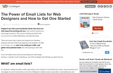 http://www.1stwebdesigner.com/design/power-of-email-lists/