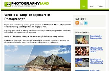 http://www.photographymad.com/pages/view/what-is-a-stop-of-exposure-in-photography