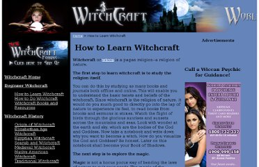 http://www.witchcraft.com.au/how-to-learn-witch-craft.html