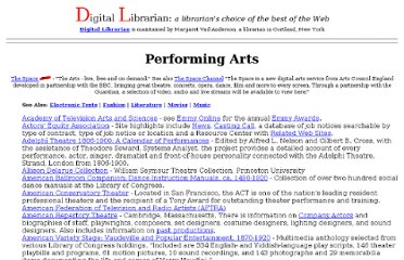 http://www.digital-librarian.com/performing.html