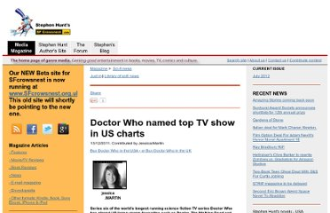 http://www.sfcrowsnest.com/articles/news/2011/Doctor-Who-named-top-TV-show-in-US-charts-16454.php