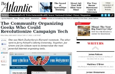 http://www.theatlantic.com/politics/archive/2012/05/the-community-organizing-geeks-who-could-revolutionize-campaign-tech/257309/#.T7eg49_mzus.twitter