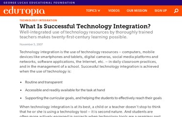 http://www.edutopia.org/technology-integration-guide-description
